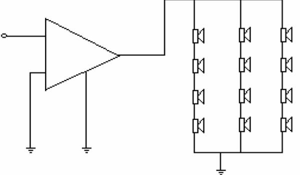 Fig. 5. Esquema del circuito eléctrico.